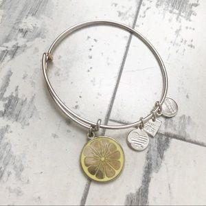 Lemon 🍋 Alex and ani bracelet